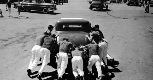 guys working on cars old photography hot rods santa ana pinterest