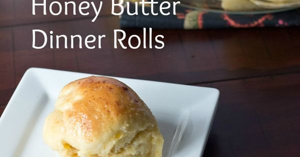Honey Butter Dinner Rolls - these are truly my go-to dinner rolls.