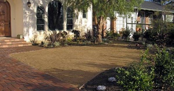 replace lawn with rocksdecomposed granite decomposed granitefront yard ideasgarden