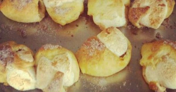 Disappearing} Marshmallow Cresent Rolls | Marshmallows and Treats