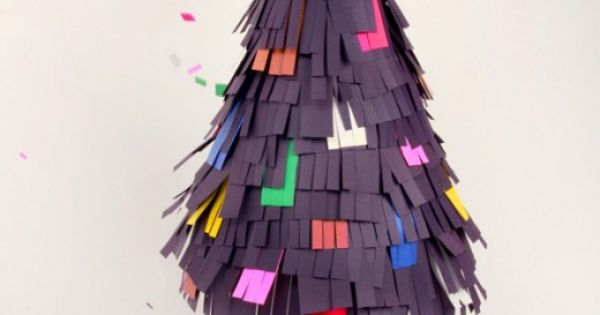 DIY Piñata Tree by Blow Up! christmas, xmas, kid, kids, room, decor,