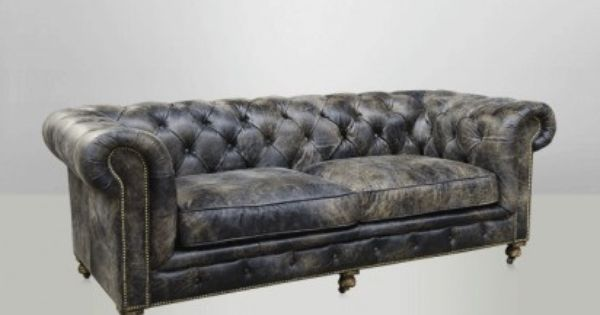 Canape Cuir Chesterfield Canape Chesterfield Canape Vintage Canape Cuir Vintage Gris Gris Cendre Canape Kensington Canape Cuir Canape Vintage Canape Chesterfield