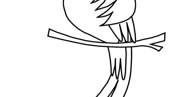 Free Coloring Pages Of Quetzal Bird