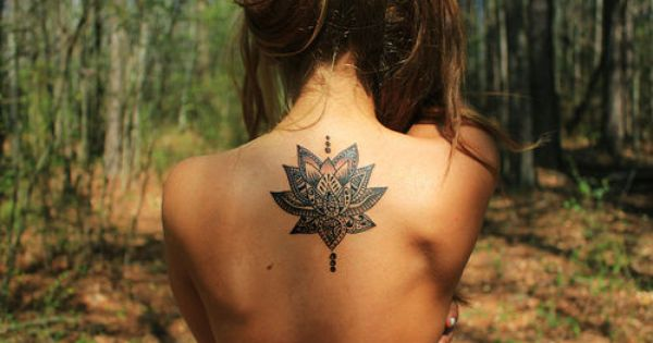 Lotus flower tattoo, if I was ever to get one