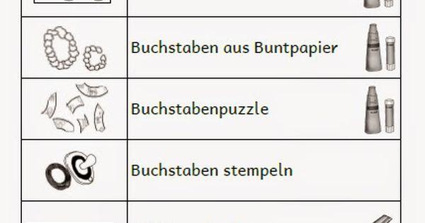 krabbelwiese: Genaue Erklu00e4rung zum Lernweg (Oktober) : Schule : Pinterest : Deutsch, School and ...