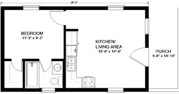 Mother in law quarters glacier floor plans view floor for Mother in law quarters plans