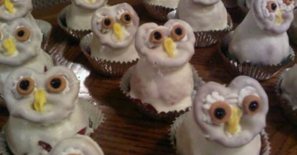 Hedwig owl treat - or Halloween fun