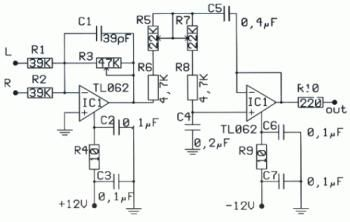Subwoofer Amplifier Wiring Diagram from i.pinimg.com