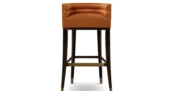barstuhl | messing beistelltisch | modernes design | minimalismus, Möbel