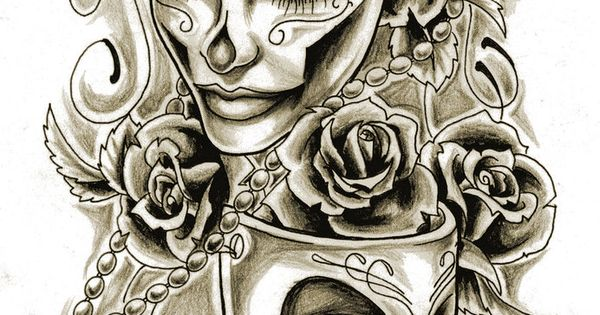 drama mask tattoo design tat tat tat it up pinterest drama masks mask tattoo and. Black Bedroom Furniture Sets. Home Design Ideas
