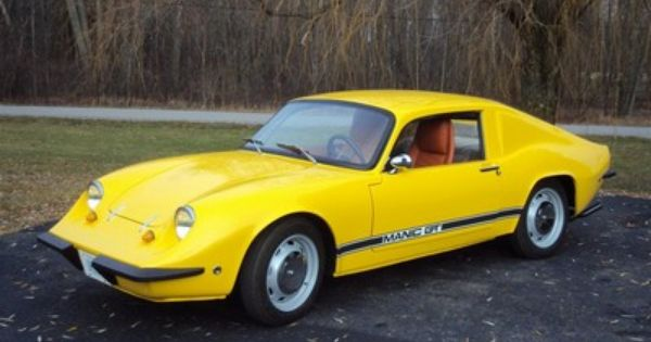 1971 Manic Gt The Manic Gt Is A Sports Car That Was Built In The
