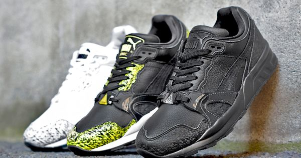 finest selection 08026 d9ccb ... black puma trinomic xt2 plus snow splatter Pinterest • The worlds  catalog of ideas ...