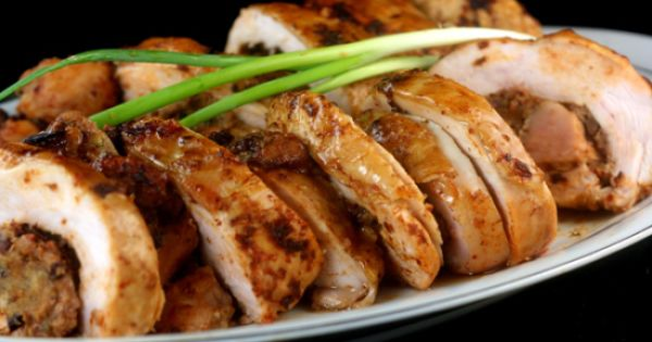 Maple And Chipotle Roasted Turkey Breast Recipe — Dishmaps
