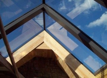 Ridgeglaze Fixed Rooflight For Pitched Roofs Glazing Vision In 2020 Roof Light Roof Lantern Roof Architecture
