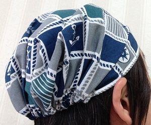 被ってみました 3 帽子 作り方 ヘアバンド 作り方 手作り ヘアバンド 作り方