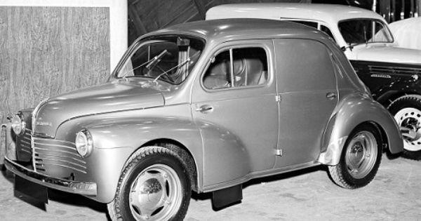 renault 4cv commerciale 1947 1952 citroen. Black Bedroom Furniture Sets. Home Design Ideas
