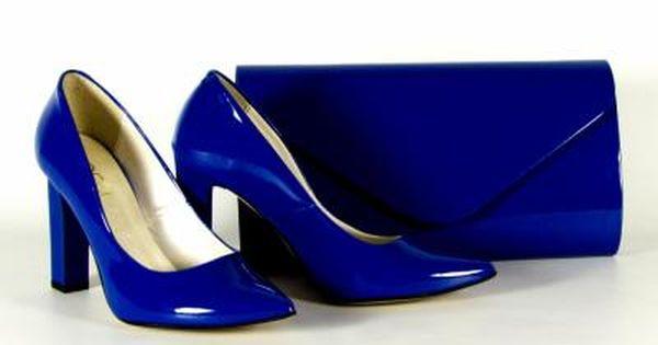 Kopertowka Szpilki Slupek Locci Skora Szafir 6045469414 Oficjalne Archiwum Allegro Heels Pumps Shoes