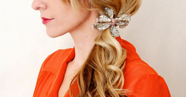 easy holiday hairstyle girl hairstyle Hair Style| http://hairstyle266.blogspot.com
