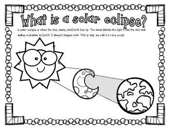 Solar Eclipse Coloring Page Solar Eclipse Eclipse Book Solar