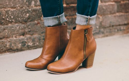 The most wearable boot for this or any season. These essential leatherette