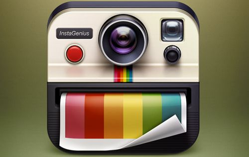 InstaGenius App Icon | Digital Illustrator: Artua