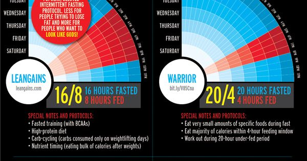 Fitness Infographics!Diets: Intermittent Fasting Basics ...