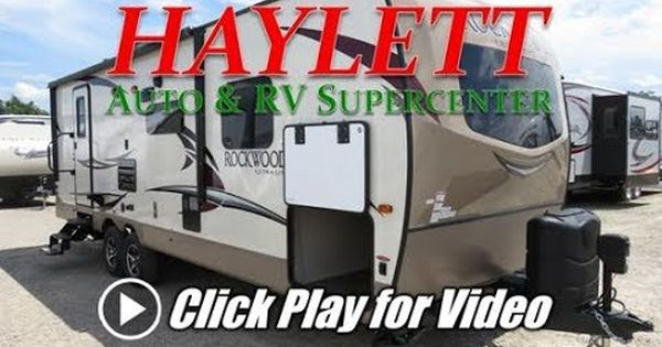 Haylettrv 2018 Rockwood 2606ws Ultra Lite Rear Bath Closet Slide Coupl Recreational Vehicles Rockwood Camper
