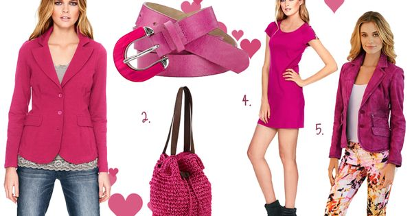 Couleur rose tendance 2013 : accessoires, vestes et robes roses ...