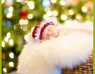 Christmas newborn photo ideas