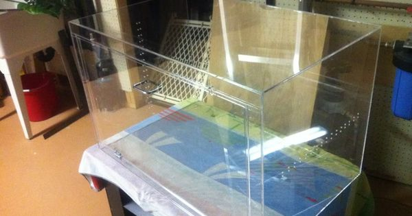 How To Build An Acrylic Enclosure Ssnakess Reptile
