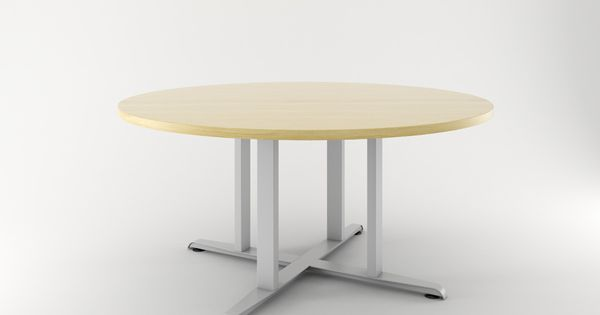 Impression 4 Post X Base By Enwork Table Conference Table