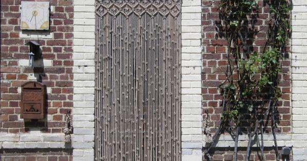 Cortina puerta exterior de macram macram cortinas - Cortinas puerta exterior ...
