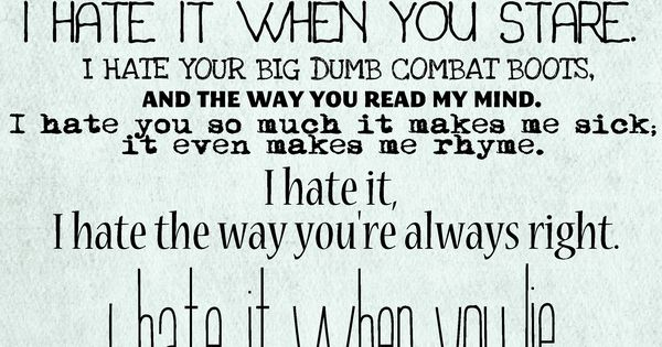 10 Things I Hate About You...classic chick flick. Loves it!