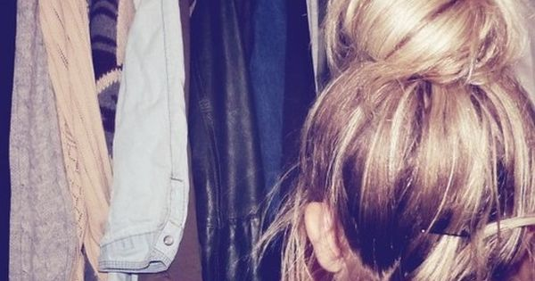 I love the messy bun, Its perfectly messy and really cute for