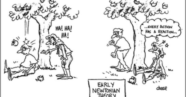 Newton S Laws Science And Math Humor Pinterest Physics