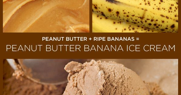 peanut butter banana icecream