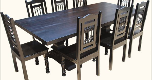 Black Wood Dining Room Set Stunning Decorating Design