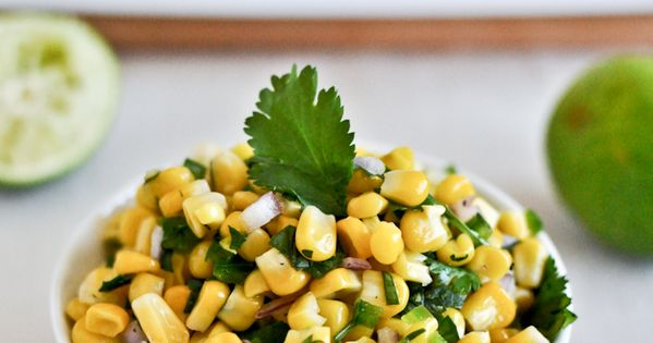 Chipotle Corn Salsa copycat recipe. Made it today! Not exactly like the