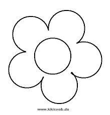 Blumen Vorlage Zum Ausschneiden Google Suche Blumen Vorlage Vorlagen Blumen Basteln Blumenschablone