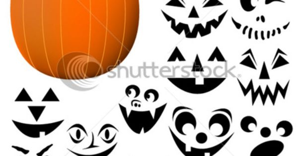 pumpkin faces. Felt pumpkin, felt face parts. Like pin the tail, but