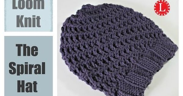 Knit Popcorn Stitch In The Round : How to Loom Knit the Popping Popcorn Beanie Beginning to End - YouTube Loom...