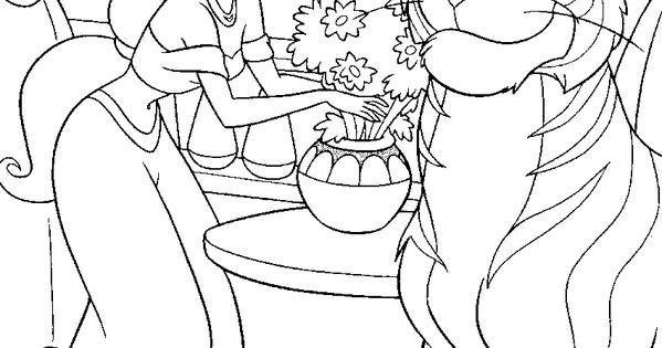 ... Coloring Pages Disney-princess