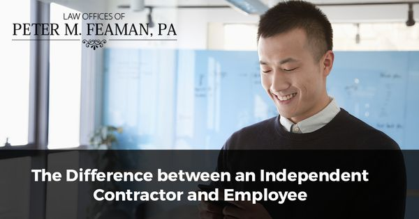 The Difference between an Independent Contractor and Employee - differences employee independent contractor