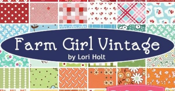Farm Girl Vintage Fat Quarter Bundlespecially Selected By