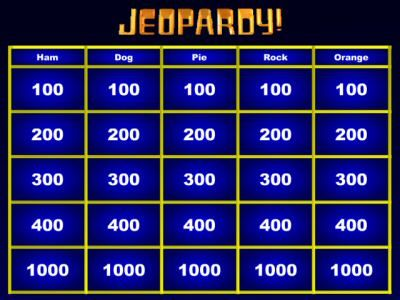 Jeopardy Maker Jeopardy For Kids Jeopardy Template This Or That Questions