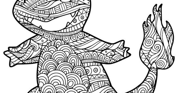 Charmander Coloring Pages Pinterest
