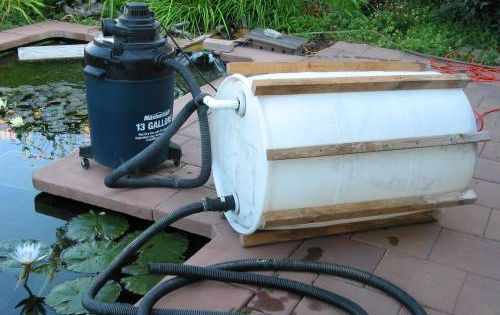 Diy pond vacuum ponderings pinterest 39 diy for Do it yourself pond filter
