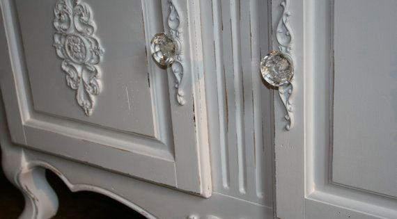 1 Furniture Applique Back Plates Knob Backplates