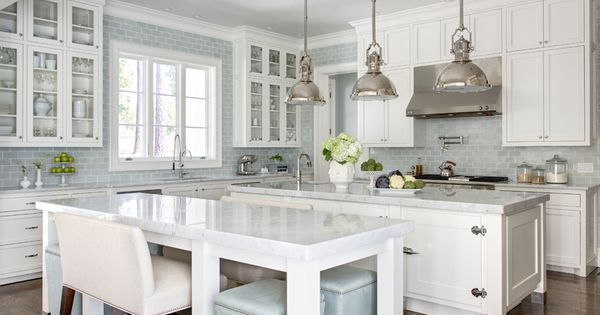 blue + white kitchen, tile to modern kitchen design kitchen interior design|