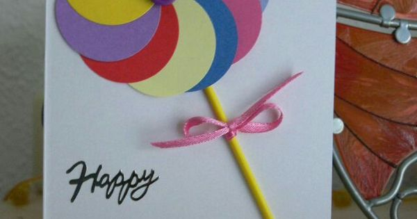 Geburtstagskarte ideen pinterest cards birthdays for Pinterest geburtstagskarte